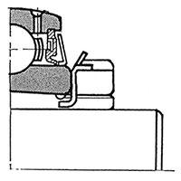 Самоустанавливающиеся подшипниковые узлы с закрепительной втулкой