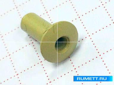 Заклёпка вытяжная 3,2х8 алюминий/сталь RAL 1014