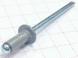 Вытяжная заклепка 3,2х8 алюминий/сталь RAL 7004