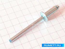 Вытяжная заклепка 4x10 сталь/сталь
