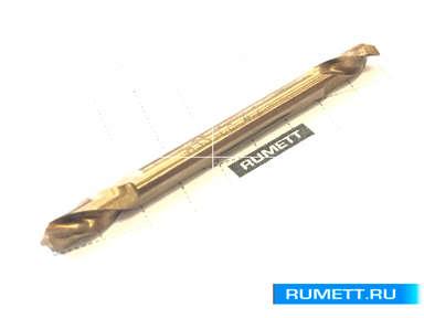 Двухстороннее сверло по металлу HSS-Co 4,2 мм double