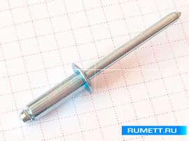 Заклёпка вытяжная 4,8x18 сталь/сталь