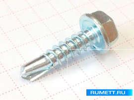 Саморез-сверло по металлу 4,8х19 DIN 7504 K