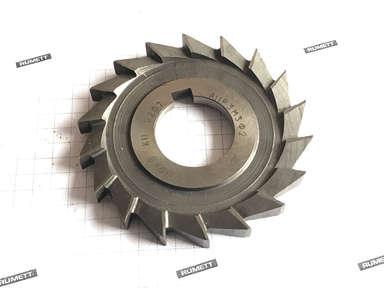 Фреза дисковая трехсторонняя 80х8х27 Z=18 А11Р3М3Ф2