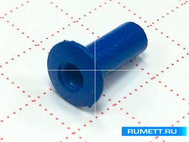 Заклёпка вытяжная 3,2х8 алюминий/сталь RAL 5005