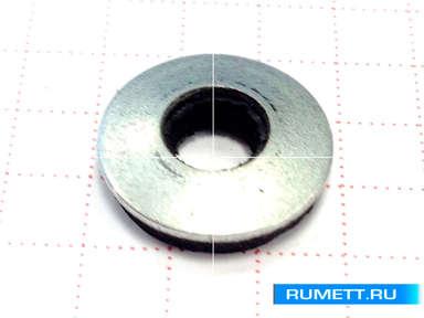 Усиленный саморез для стального профиля 5,5х32 сверло 12 мм и EPDM шайба