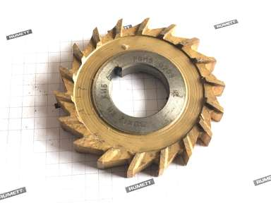 Фреза дисковая трехсторонняя 80х12х27 Z=18 Р6М5