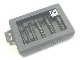 Набор экстракторов для выворачивания сорванных винтов из 8-ми штук (М3-М6) - (М33-М50) с крупной резьбой