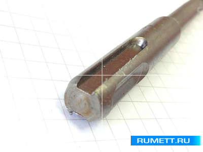 Бур по бетону 8x160 мм SDS-plus