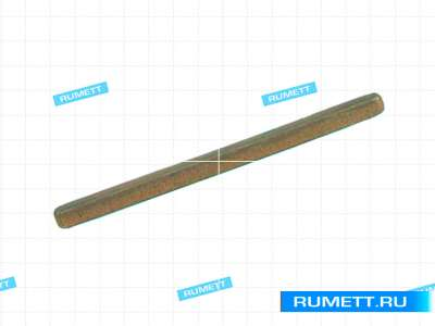 Брусок хонинговальный тип АБХ 50х5х3х1,5 R10 АС4 50/40 100% М2-01, 1,65 карат