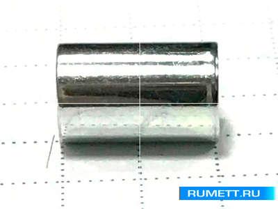 Втулка распорная 6,5х5,1х10,6 оцинкованная сталь