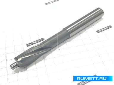 Цековка D 11,0 х d 5,0 х 80 ц/х Р6М5 с постоянной направляющей цапфой, dхв 8мм