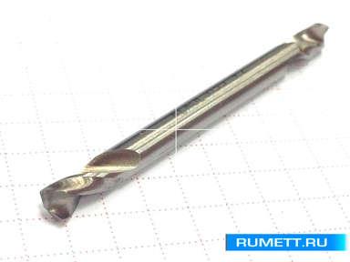 Двухстороннее сверло по металлу HSS 5,5 мм double
