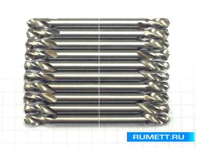 Двухстороннее сверло по металлу HSS 4,1 мм double
