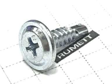 Саморез с прессшайбой ПШС 4,2х16 со сверлом усиленный