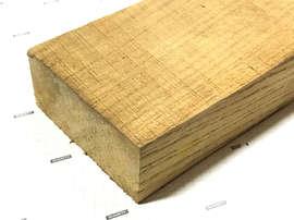 Дуб доска обрезная толщина 30 (массив длина 2,5 - 3,2 метра)