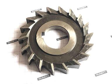 Фреза дисковая трехсторонняя 80х10х27 Z=18 Р6М5