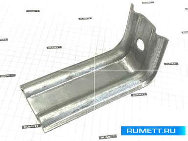 Фасадный кронштейн КК 100х50х50 оцинкованная сталь 2 мм