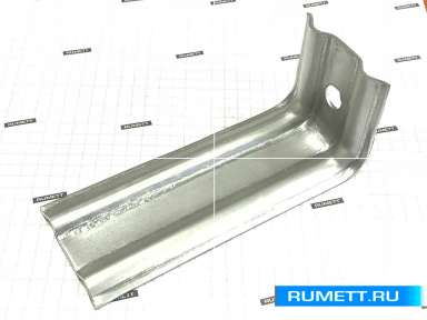 Фасадный кронштейн КК 120х50х50 оцинкованная сталь 2 мм окрашенный