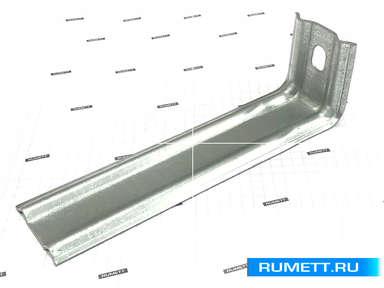 Фасадный кронштейн КК 190х50х50 оцинкованная сталь 2 мм