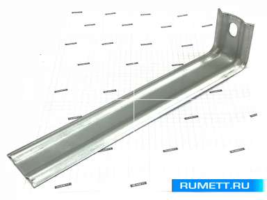 Фасадный кронштейн КК 250х50х50 оцинкованная сталь 2 мм