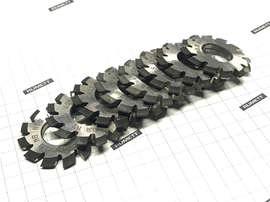 Фреза дисковая зубонарезная М0,8 Р6М5 Z=12 dпос.=13 D=32 (комплект из 8 штук)