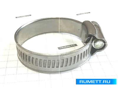 Хомут червячный 25-40/12.7мм W4 нержавеющая сталь, усиленный BS5315 (67-2D2540)