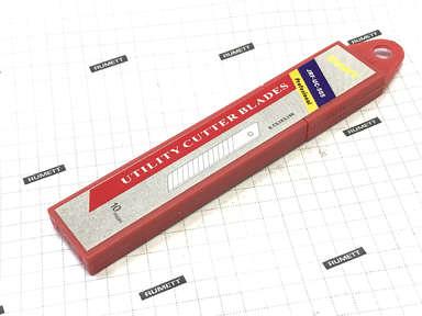 Лезвие для ножа универсального 0,5х18 мм отламывающееся (10шт)