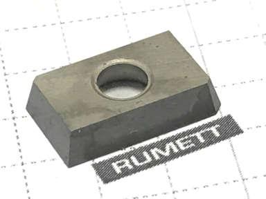 Пластина сменная 4гр. прямоугольная ZDCW-1503 ADTR Т15К6