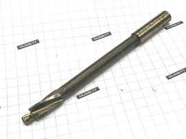 Цековка 7,4 с цапфой 4,5 ц/хв диаметр хвостовика 8 мм несъёмная цапфа