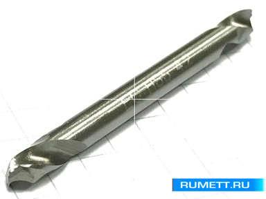 Сверло по металлу двухстороннее HSS-G 4,2мм L=55мм DIN 1897
