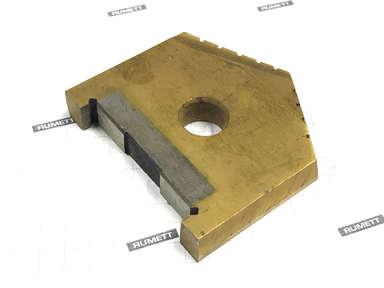 Сверло перовое по металлу 32,0 Р6М5 TiN 2000-1214