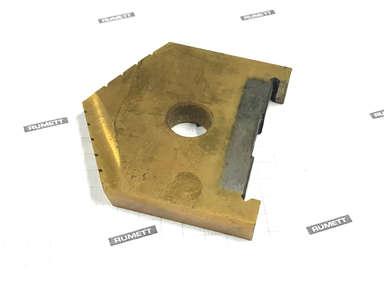 Сверло перовое по металлу 29,0 Р6М5 TiN 2000-1209