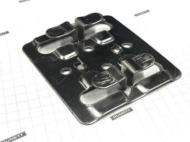 Кляммер рядовой 1,2 мм нерж AISI 430 под керамогранит 6-8 мм