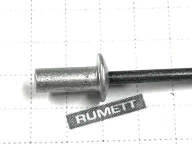Закрытая вытяжная заклепка 4х10 алюминий/сталь (глухая)