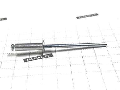 Вытяжная заклепка 3,2х12 алюминий/сталь (Al/St)