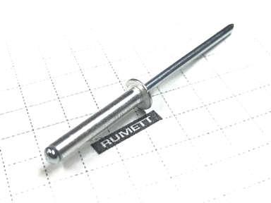 Вытяжная заклепка 3,2х16 алюминий/сталь (Al/St)