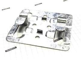 Кляммер рядовой ККР из оцинкованной стали 1,2 мм