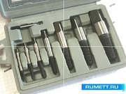 Набор экстракторов для выворачивания сорванных винтов из 8-ми штук (М3-М6) - (М33-М50) с мелкой резьбой