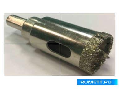 Алмазная коронка по стеклу и кафелю 50 мм