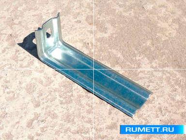 Фасадный кронштейн (крепление стеновое) КК 150 оцинкованная сталь