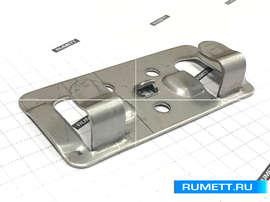 Кляммер стартовый ККС из нержавеющей стали AISI 304 толщ. 1,2 мм