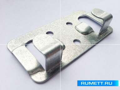 Кляммер стартовый 1 мм из оцинкованной стали Декот XXI