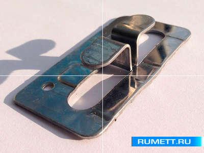 Кляммер боковой ККБ 1,2 мм нерж. AISI 430