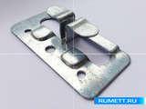 Кляммер боковой ККБ из оцинкованной стали 1 мм