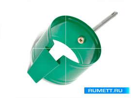 Крепление трубы (анкер) диаметр 90 мм