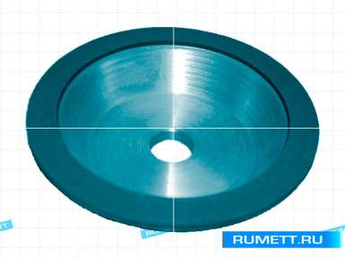 Круг алмазный 12V5-20град (тарельчатый) 125х5х2х32 АСР 63/50 100% В1 16,6 карат (А3Т)
