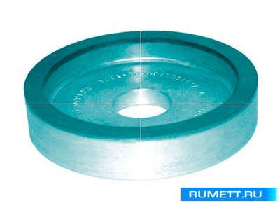 Круг алмазный 6А2 (плоский с выточкой) 150х10х4х24х32 АС4 125/100 100% В2-01 77,0 карат