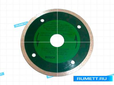 Диск отрезной алмазный Для влажной резки 180х2,2х5х22мм с непрерывной режущей кромкой
