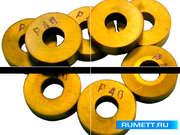 Пластина RNUM - 250700 Т15К6 (YT15) круглая dвн=9мм (12114) со стружколомом